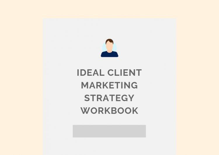 Ideal client marketing strategy workbook pl