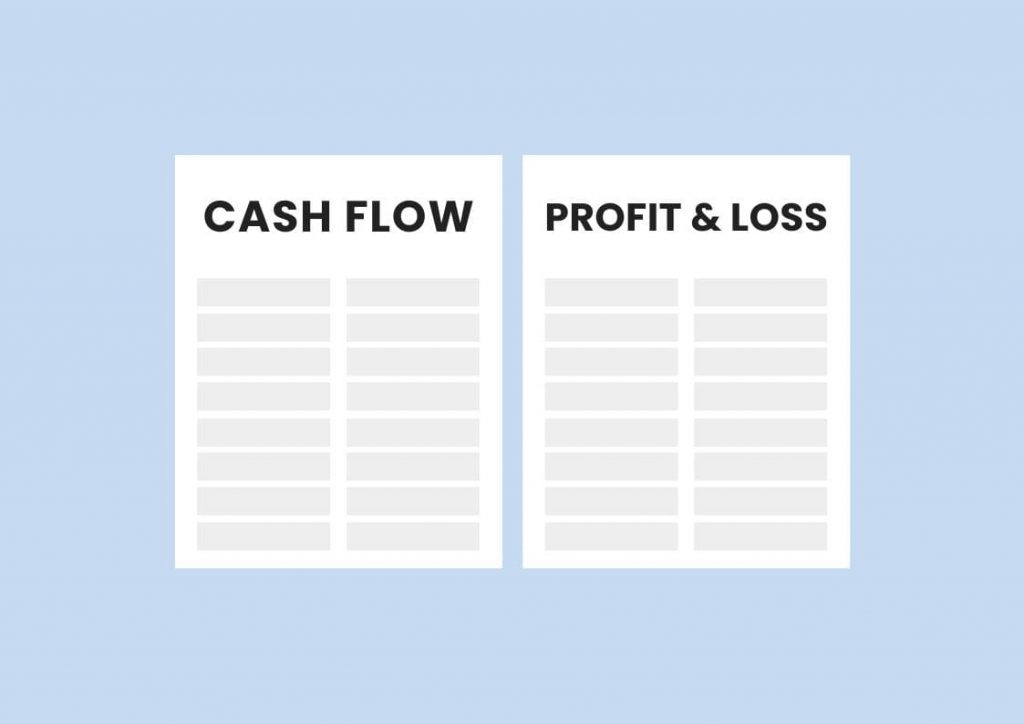Difference cash flow and profit and loss private practice