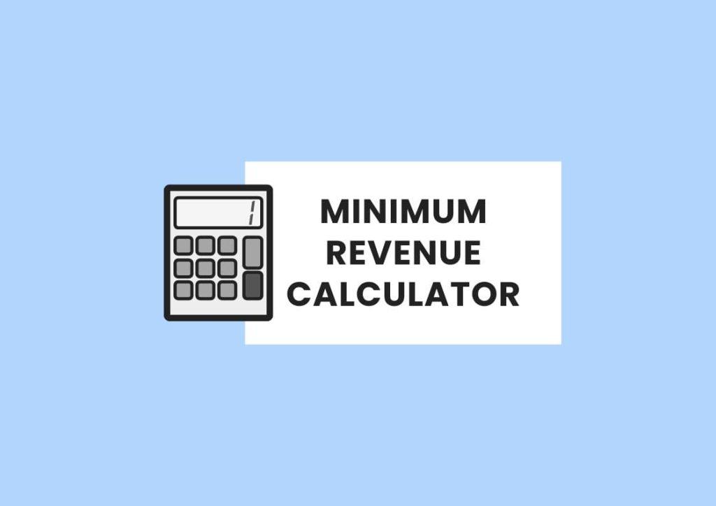 minimum revenue calculator private practice