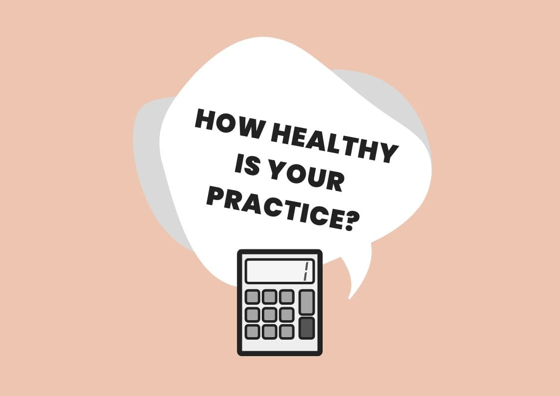 private practice financial health check practicelab
