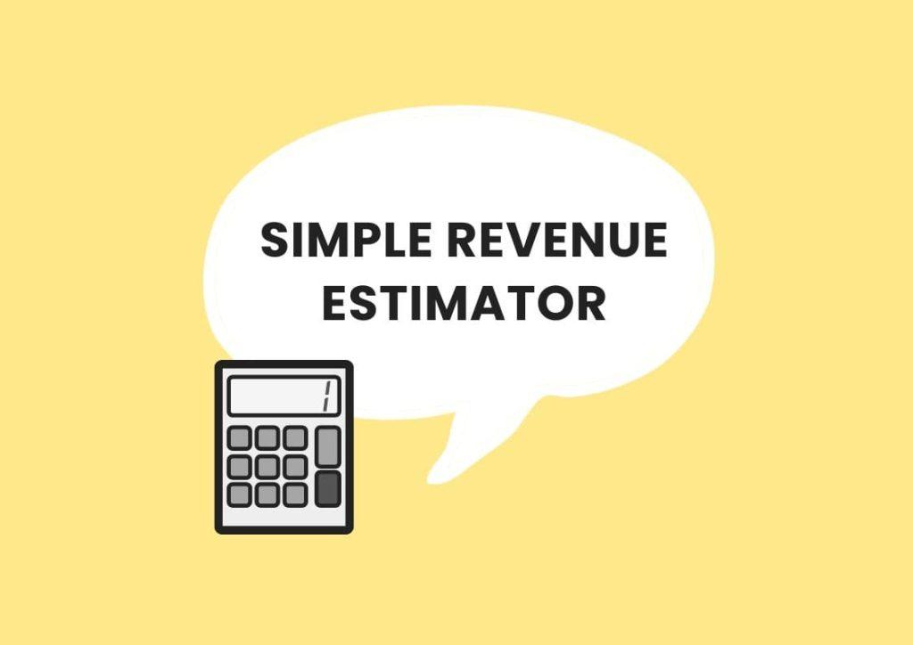 simple revenue estimator private practice
