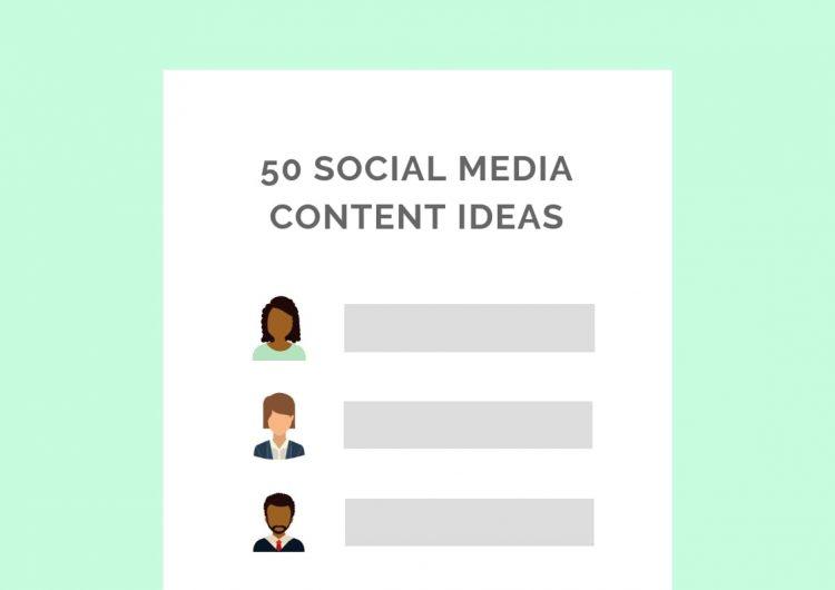 social media content ideas private practice