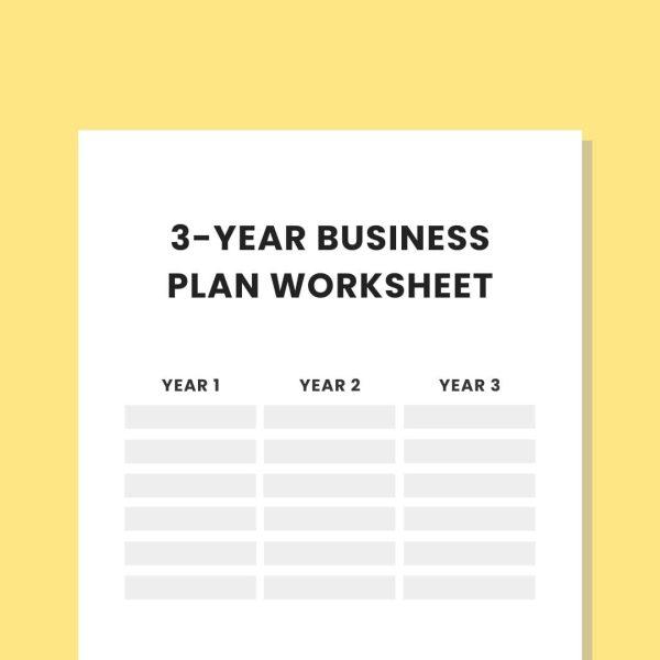 Private practice 3 year business plan worksheet practicelab