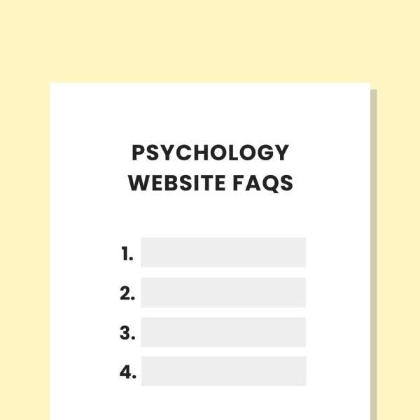 practicelab psychology website faq workbook