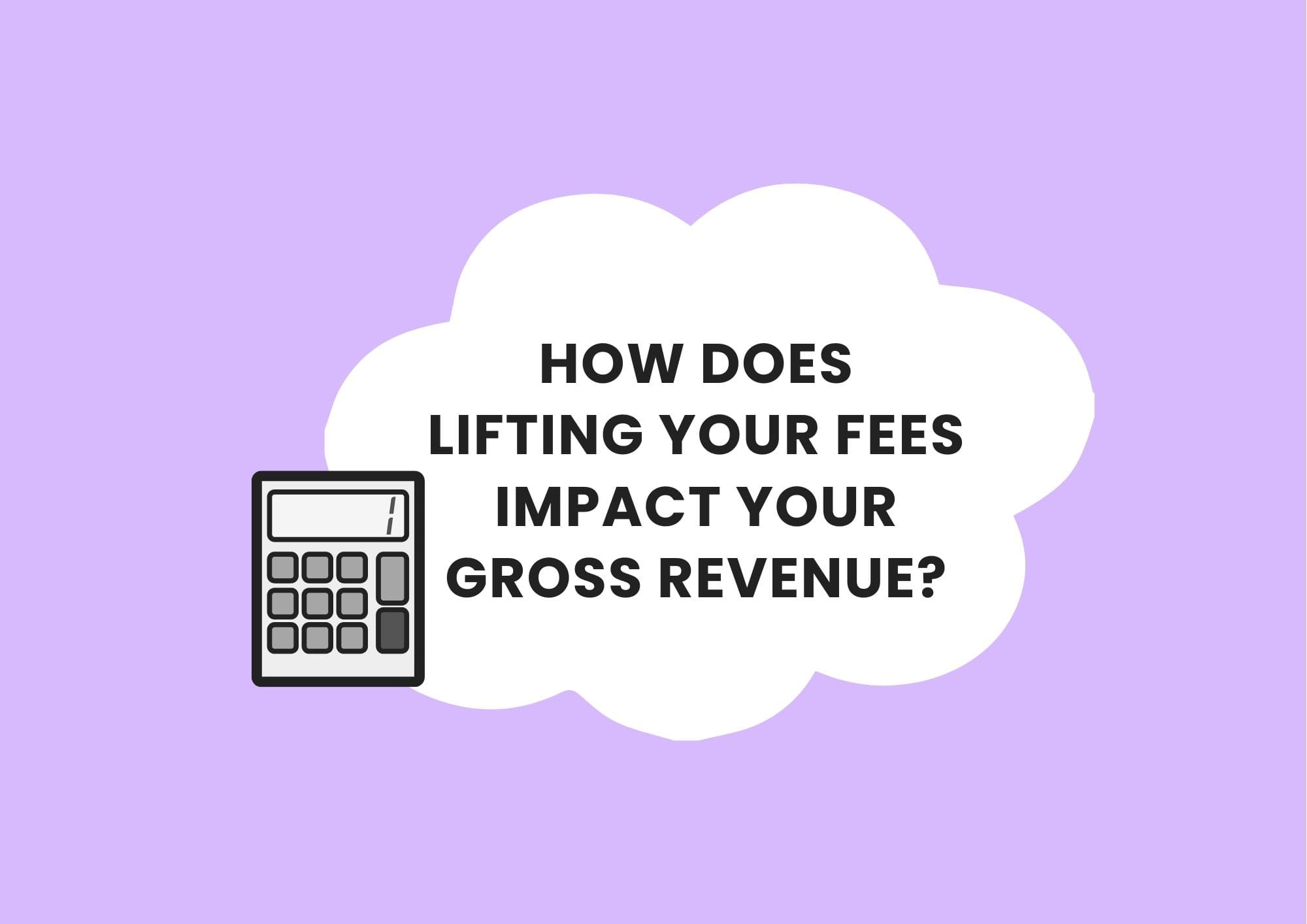 session fee impact on revenue calculator private practice resources