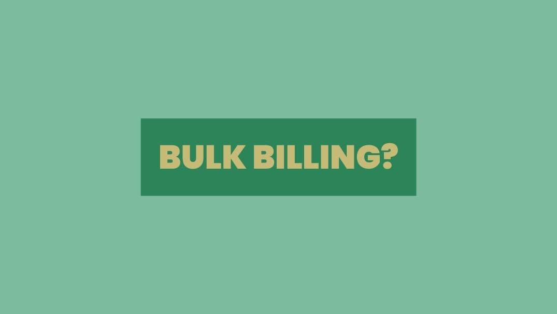 Private practice psychologist bulk billing telehealth