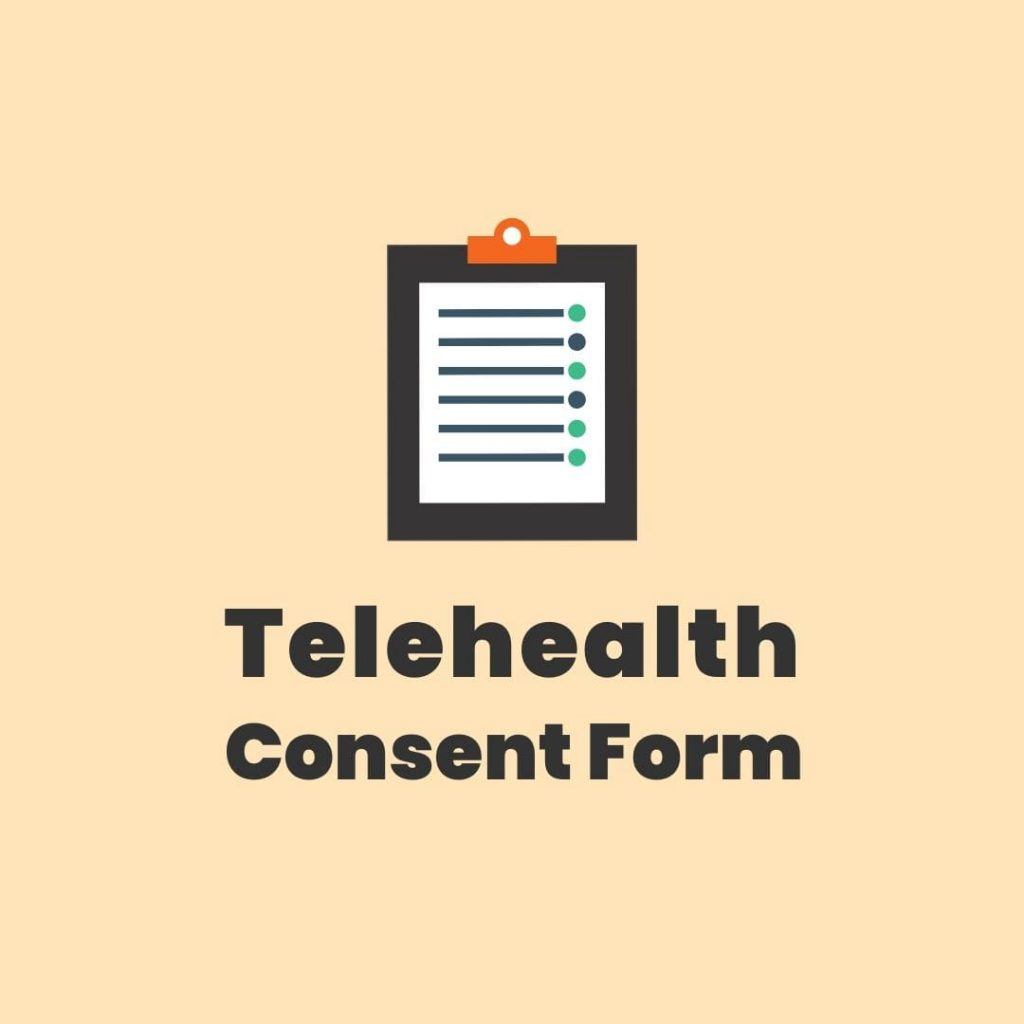 telehealth client consent form template private practice
