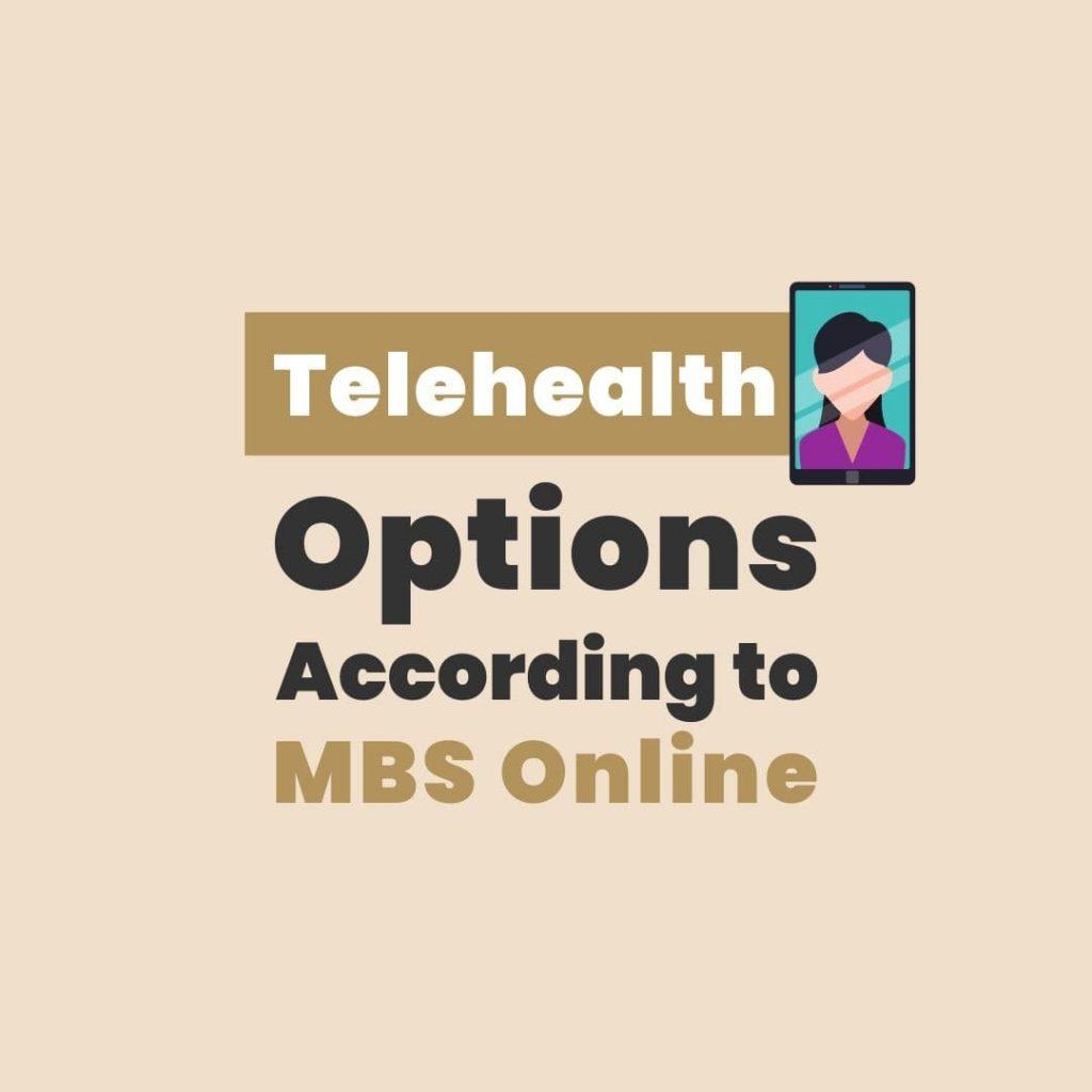 telehealth options mbs online